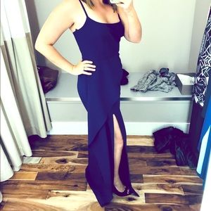 Formal Blue long dress